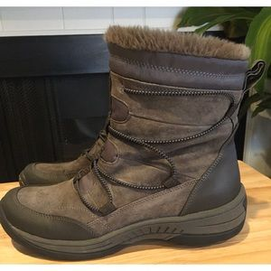 BareTraps Suede leather Stay Dry Winter Boots